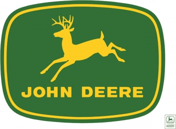 John Deere John Deere Logo Sign. JSG670