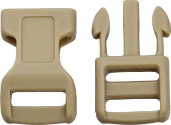 Knotty Boys Buckle Coyote 100 Pack BRK-KYCPC