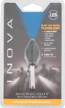 Inova Microlight Cobalt Blue flashlights LML4006