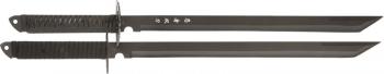 Cheap Twin Ninja Sword Knives M3639