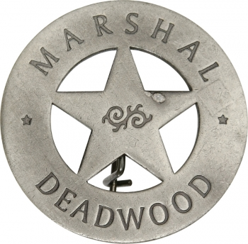 Badges Of The Old West Marshal Deadwood Badge MI3007