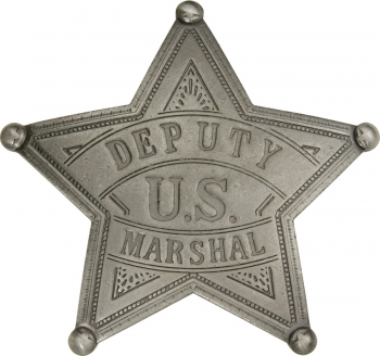 Badges Of The Old West Us Deputy Marshal Badge MI3009