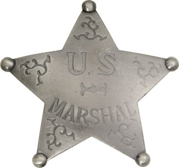 Badges Of The Old West Us Marshal Badge MI3016