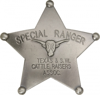 Badges Of The Old West Special Ranger Badge MI3025