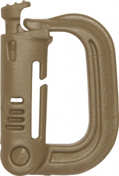 Maxpedition Grimloc Locking D-ring 4pk gear bags MXGRMLK