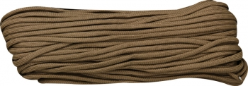 Marbles Parachute Cord Brown 100 Ft knives BRK-RG027H