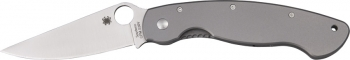 Spyderco Military Titanium Handle Plain Edge 9 1/2 SC36TIP