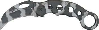 Smith and Wesson Urban Camo Karambit Knife CK32C