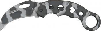 Smith and Wesson Urban Camo Karambit Knife CK32C