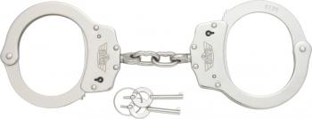 Uzi Handcuffs Silver Finish knives UZIHCCS