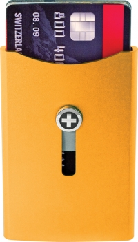 Wagner Super Slim Wallet Deep Orange WA706