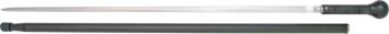 Windlass Knob Cane Solid Black Aluminum Rapier Blade 600180