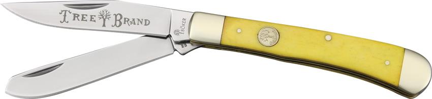boker trapper yellow bone bo110731
