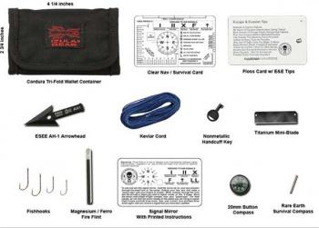 ESEE ESWK Izula Gear Wallet KitSurvival Accessories