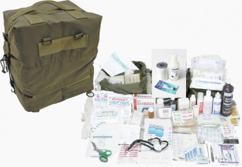 Elite M17 First Aid Kit Medic Bag - Car/Home/Office FA110
