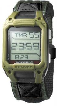 Humvee Mens Olive Drab Water & Shock Resistant Watch HMV0510