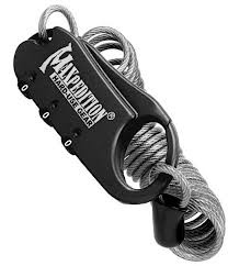 Maxpedition Steel Cable Lock gear bags BRK-MXCABLOCB