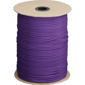 Marbles Parachute Cord Purple 1000 Ft knives RG109S