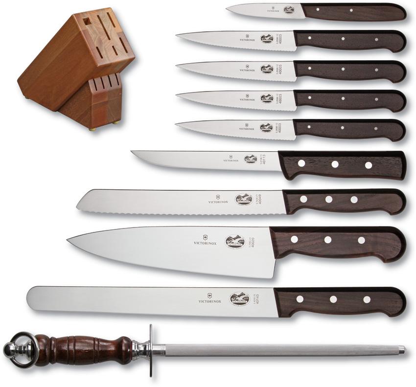 Victorinox Eleven Piece Block Set knives VN46153
