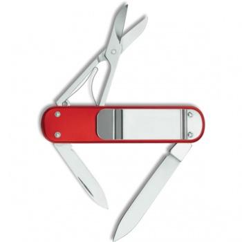 Victorinox Red Money Clip Knife knives VN53739