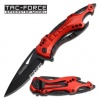 Tac Force Fire Fighter Linerlock A/O - BRK-TF705RD