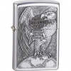 The Zippo Harley (model ZO14231) Brushed Chrome
