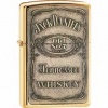Zippo Jack Daniels label lighter (model Z016428)