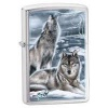 Zippo Claudio Mazzi Winter Wolves Windproof Lighter