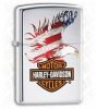 Zippo Harley Davidson Flag Lighter Model ZO28082