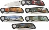 American Hunter Wildlife 6 Pc Pocket Knife Set - AH500