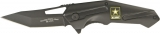 US Army Linerlock - Black - ARMY3B