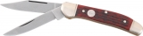 Boker Copperhead Red Jigged Bone - 2626JRBI