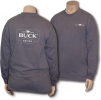 Buck Womens Navy Zip-Up Sweatshirt - BU3698
