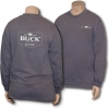 Buck Womens Navy Zip-Up Sweatshirt - BU3700