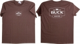 Buck Womens T-Shirt Large - BU6934