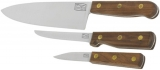 Chicago Cutlery Walnut Tradition 3 Piece Set - BRK-C13305
