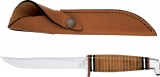 Case Fixed Blade 95 Hunter & Sheath Leather Handle