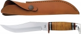 Case Hunter 381-6 SS 10 3/4 Overall Brown Sheath