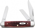Case Worn Old Red Medium Stockman Knife 06692