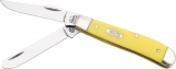 Case Cutlery Mini Trapper Yellow - CA80029