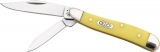 Case Cutlery Peanut Yellow Handle - CA80030