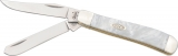Case Cutlery Mini Trapper White Pearl - CA9207WP