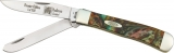 Case Trapper Abalone Corelon Knife 9254AB