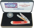 Case Indian Head Nickel Trapper Set - CAIHNR