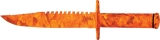 China Made Hunters Camo Survival Knife - BRK-CN210961OR