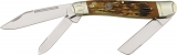 Colt Stockman Brown Stag Bone - CT322