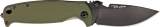 DPx HEST/F 2.0 Olive Drab Knife DPHSF006 Left Hand Configuration
