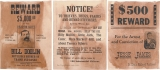Denix Denix Old West Wanted Posters. - 096
