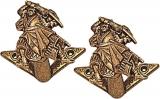 Denix Sword/Gun Hangers Brass - 10L