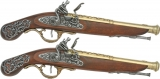 Denix Replicas British Dueling Pistols 2-1196/L
